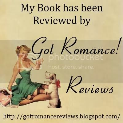 My Book was Reviewed by Got Romance! Reviews